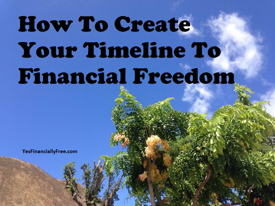 How To Create Your Timeline To Financial Freedom